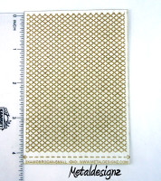 Laser Cut Texture Paper - Rolling Mill Pattern- Morrocan Tile