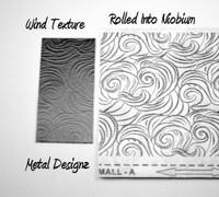 Wind Laser Texture Paper