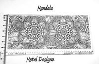 Laser Cut Texture Paper -Mandala