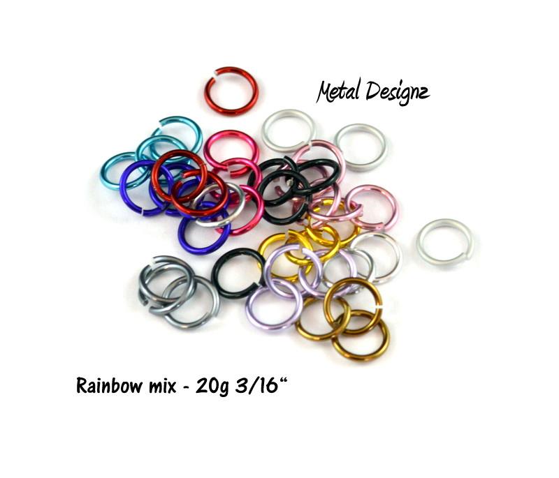 """Anodized Aluminum 20g 3/16"""" - Shop now"""