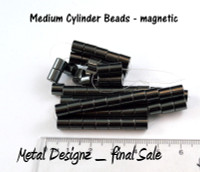 Magnetic Beads - CLEARANCE - Medium Cylinder