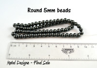 Magnetic Beads - CLEARANCE - 5mm rounds