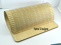 laser cut - Wooden, Folds flat, Bracelet Display stand
