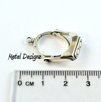 Sterling Silver Charm - Optivisor - that moves!