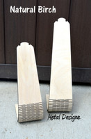 Laser Cut Wooden Necklace Stand - Natural Birch
