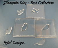 Silhouette Dies - Bird Collection - 3 dies