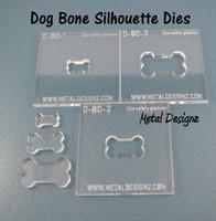 Silhouette Dies - Dog Bone Collection - 3 dies
