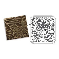 BUTTERFLY SWIRLS VINTAJ - METAL FOLDERS FOR SIZZIX OR CUTTLEBUG