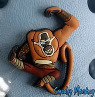 KUNG FU PANDA MONKEY JIBBITZ SHOE CHARM FOR CROCS SALE