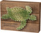 """Sea Turtle String Art Box Sign """"The Ocean Fixes Everything"""""""