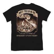 Don't Tread On Me Rattlesnake Logo Gadsden T-shirt