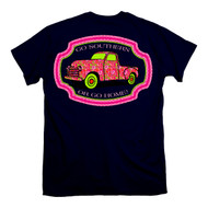 "Vintage Paisley Pink Truck ""Go Southern or Go Home"" from Itsa Girl Thing"