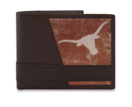 University of Texas Longhorns Vintage Logo Passcase Wallet