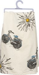 Cotton Dish Towels - Beach House/Coastal
