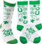 Lucky Socks make a fun gift for St. Paddy's Day or that trip to Las Vegas!  Premium quality cotton blend.  One size fits most.