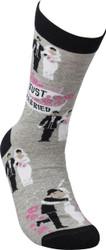 LOL Novelty Socks - Just Married