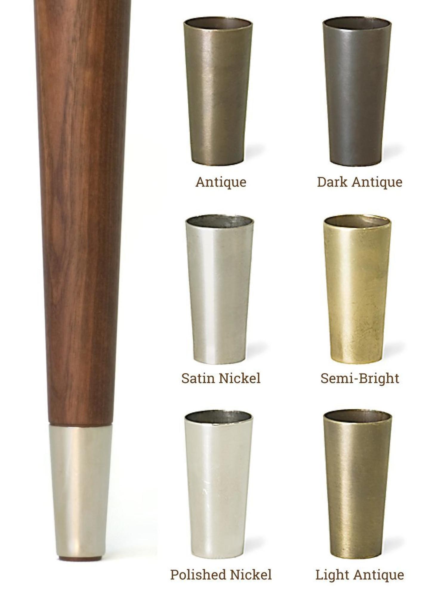 Metal Tips For Mid Centry Modern Legs