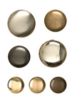 Round Brass Cabinet Knobs