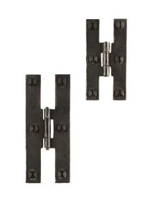 Wrought Iron H Cabinet Hinges
