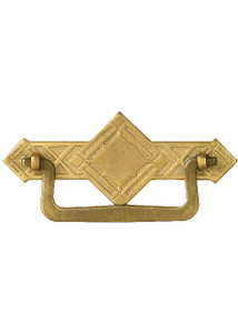 Brass Diamond Cabinet Bail Pull