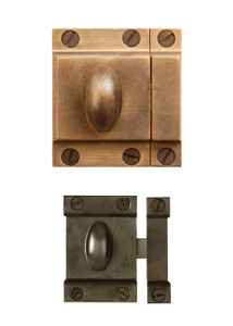 Brass Pantry Latches