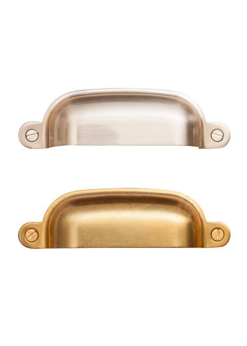 Forged Brass Bin Pulls
