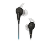 Bose QuietComfort 20 Acoustic Noise Cancelling headphones for Apple - Black (718839‐0010)