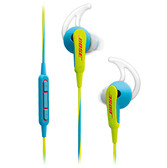 BOSE SoundSport® APPLE in-ear headphones - neon blue