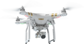 DJI Phantom 3 Professional Drone with Integrated 4K-UHD Stabilised Cam