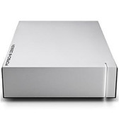 LaCie Porsche Design 8TB USB 3.0 External Hard Drive - Light Grey (LAC9000604)
