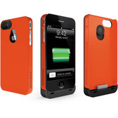 BoostCase - Hybrid Snap on iPhone 4 / 4s - Red