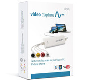 Elgato Video Capture from VCR DVR CAM or Analogue Vid to Mac as iTunes ready file