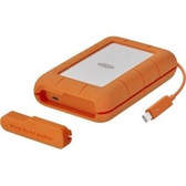 LaCie 2TB Rugged 2.5 IN THB+USB C 3.1 THB / USB-C /C To A Cables Incl (STFS2000800)