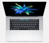 15-inch MacBook Pro 2017 with Touch Bar 2.8Ghz i7-16GB-256GB-2GB Radeon 555 SILVER