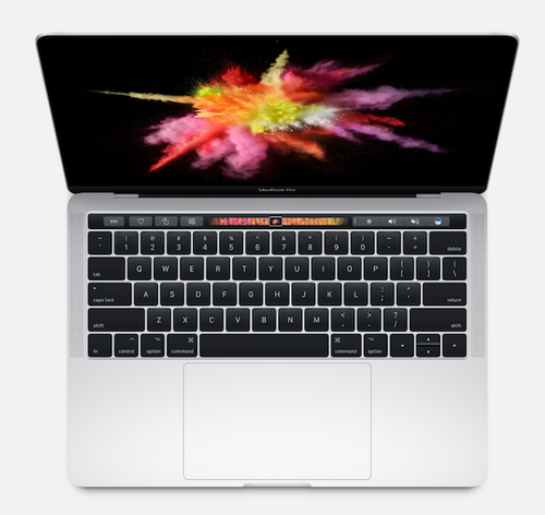 13-inch MacBook Pro 2017 with Touch Bar 3.1Ghz i5-8GB-256GB Silver