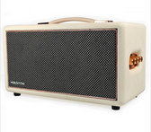 Birdwood HolySmoke Retro Bluetooth Speaker - White