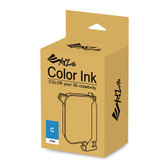 XYZ Colour Ink for Da Vinci Colour 3D Printer - Cyan