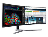 "Samsung 49"" Super Ultra-wide Curved QLED Monitor (CHG90)"