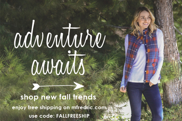 Adventure Awaits - Shop New Fall Trends with code FALLFREESHIP