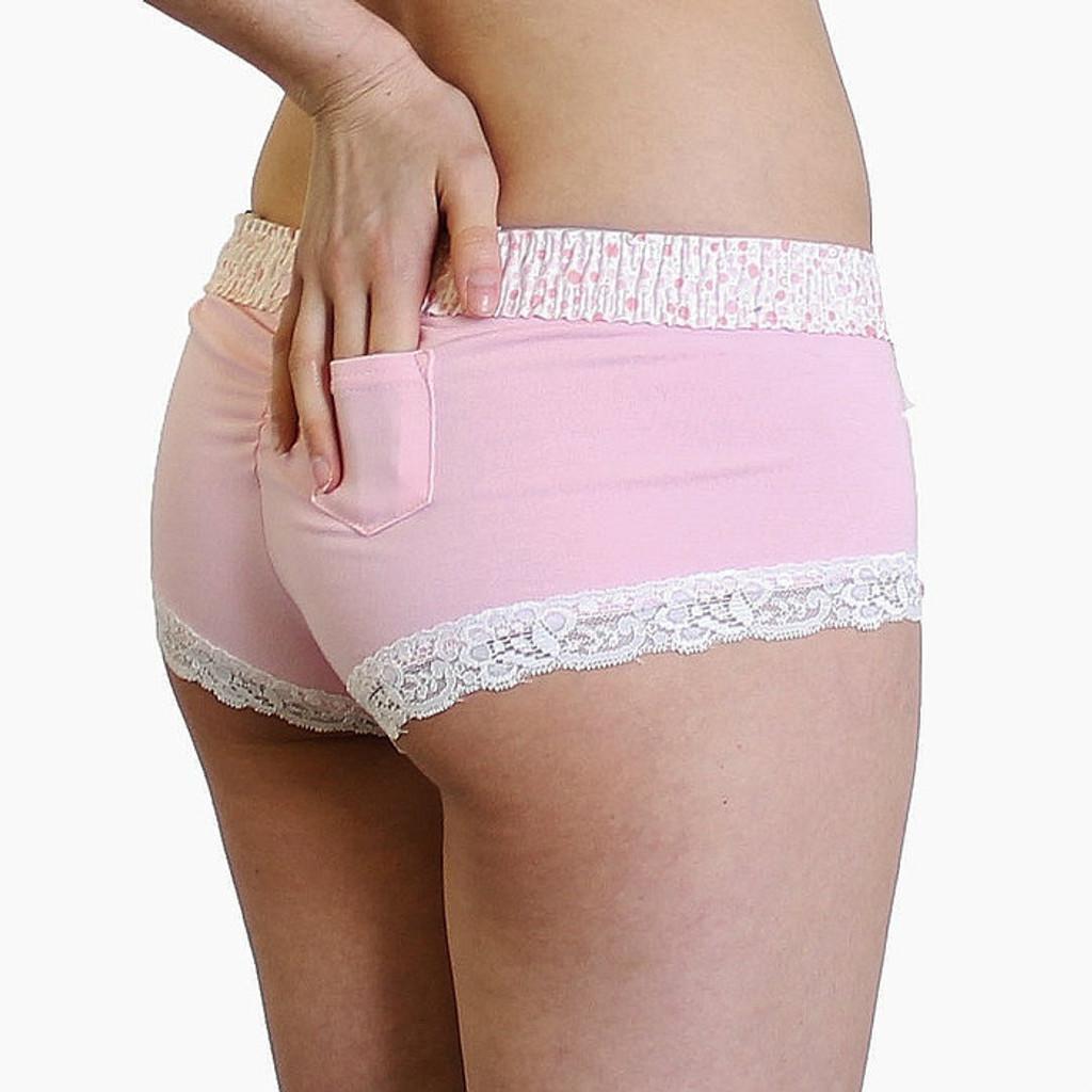 Pretty Pink boy shorts