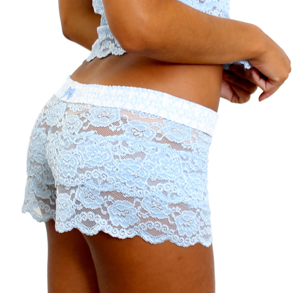 Something Blue Lace Underwear