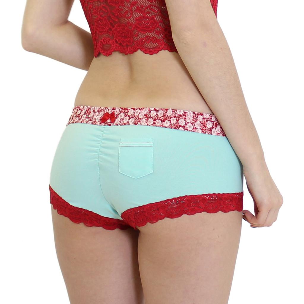 Women's Boyshort Boxer Briefs Underwear