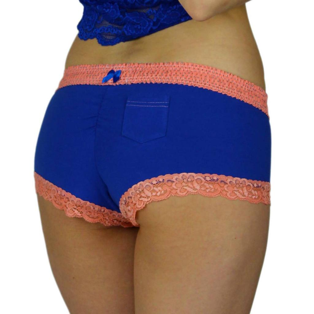 Royal Blue Cheekster Panties