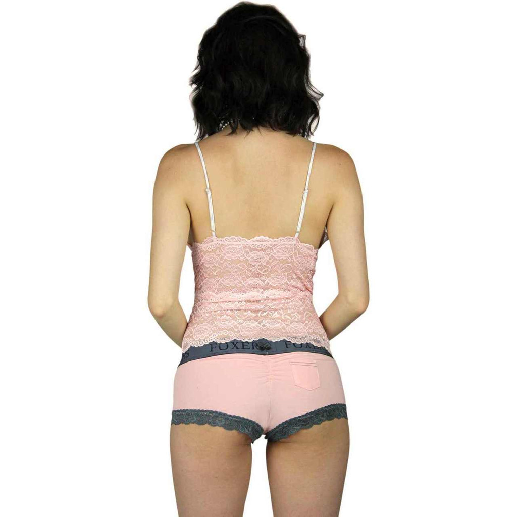Pink Lace Camisole