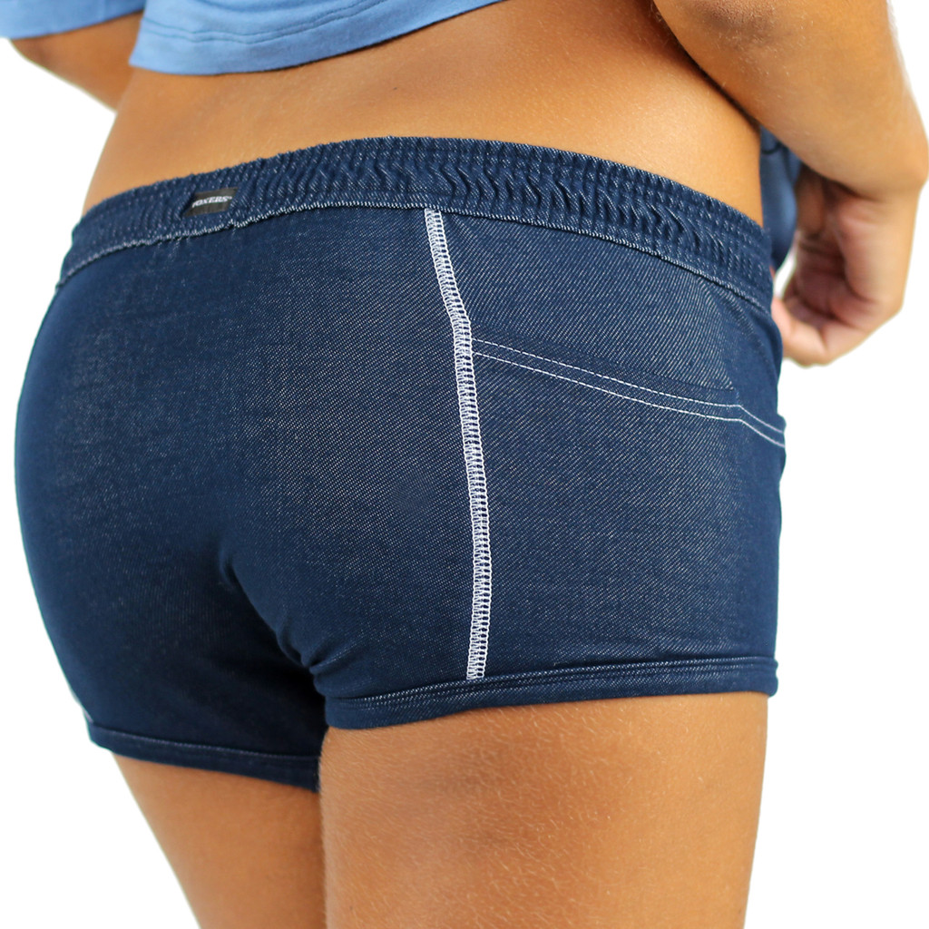 "Stretch Denim ""Tomboy"" Girls Boxer Brief"