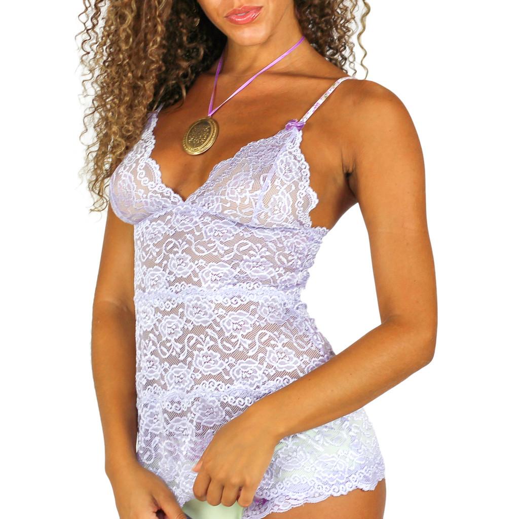 Light Purple Lace Camisole