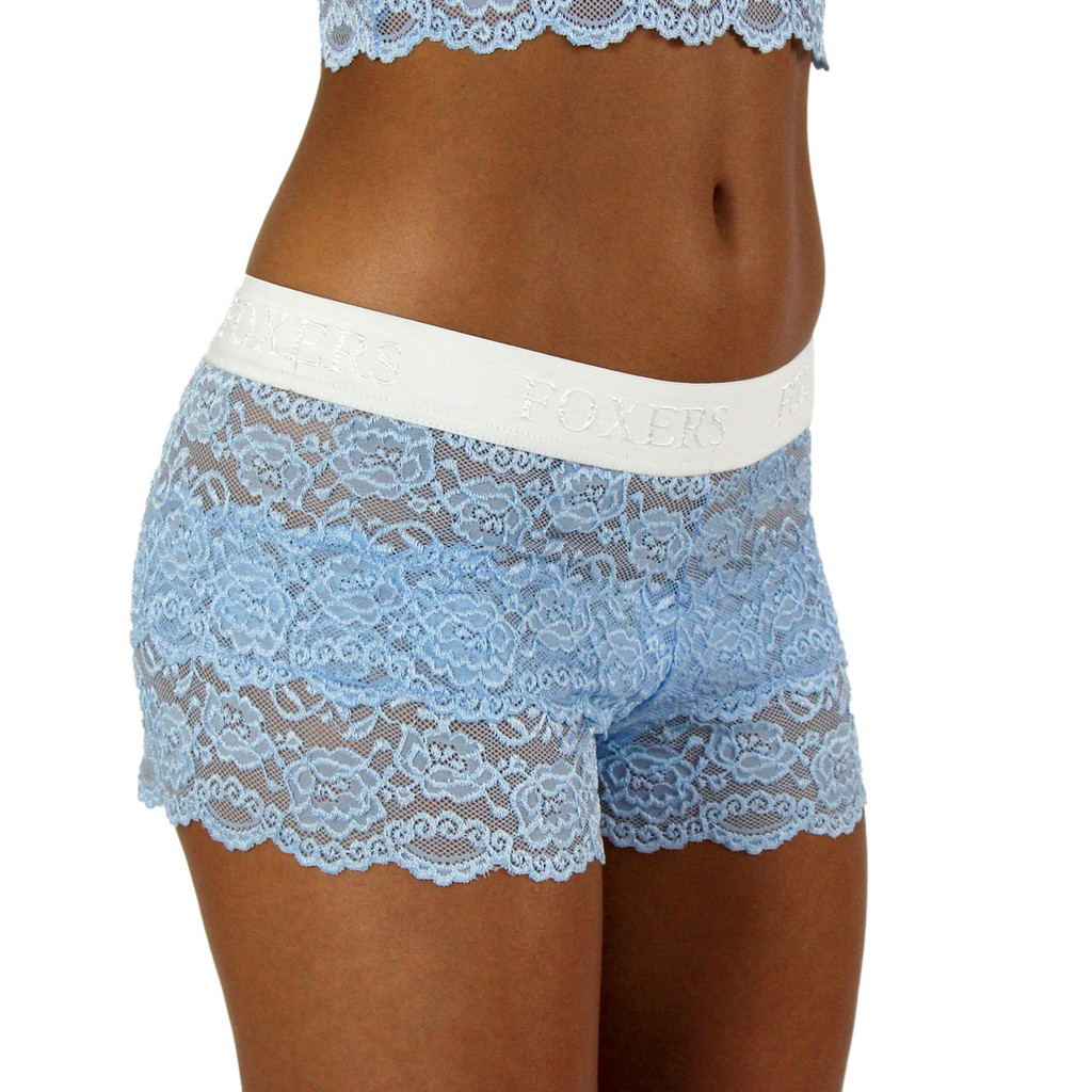 Sexy and Comfortable Light Blue Lace Panties