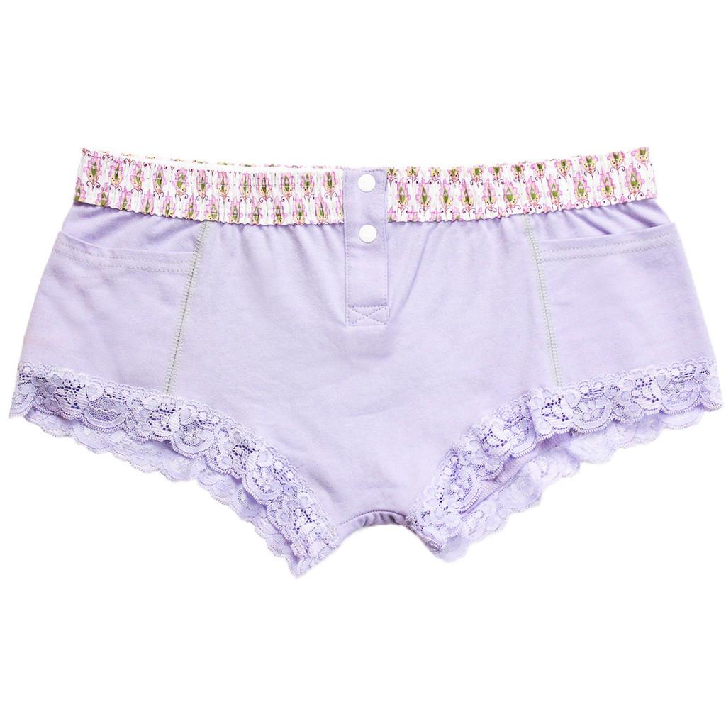 English Lavender Boxer Brief for Women