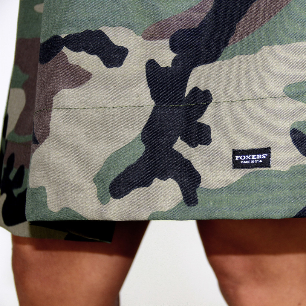 Camo Skirt With Pockets