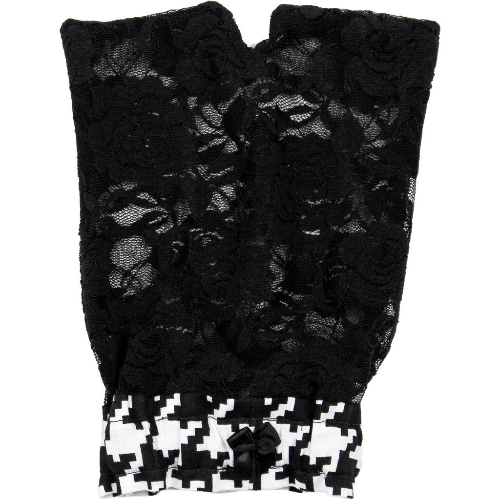 Foxers Black Lace Golf Cover
